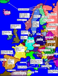 Europe according to the Swedes