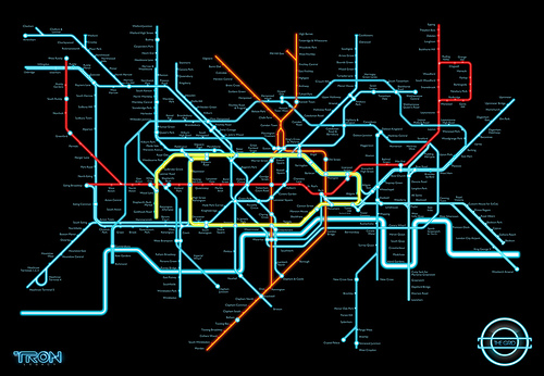 Tron - Tube Map