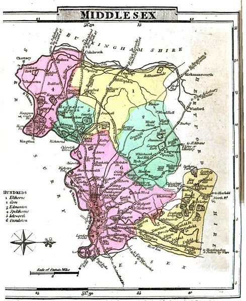Middlesex In 1824