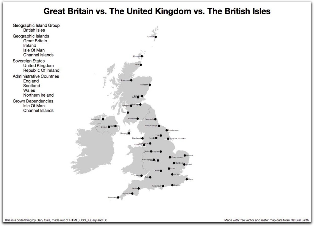 Great British Map