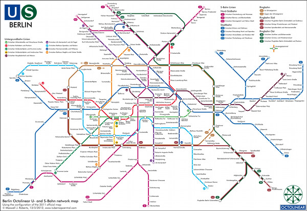 Berlin Subway Map