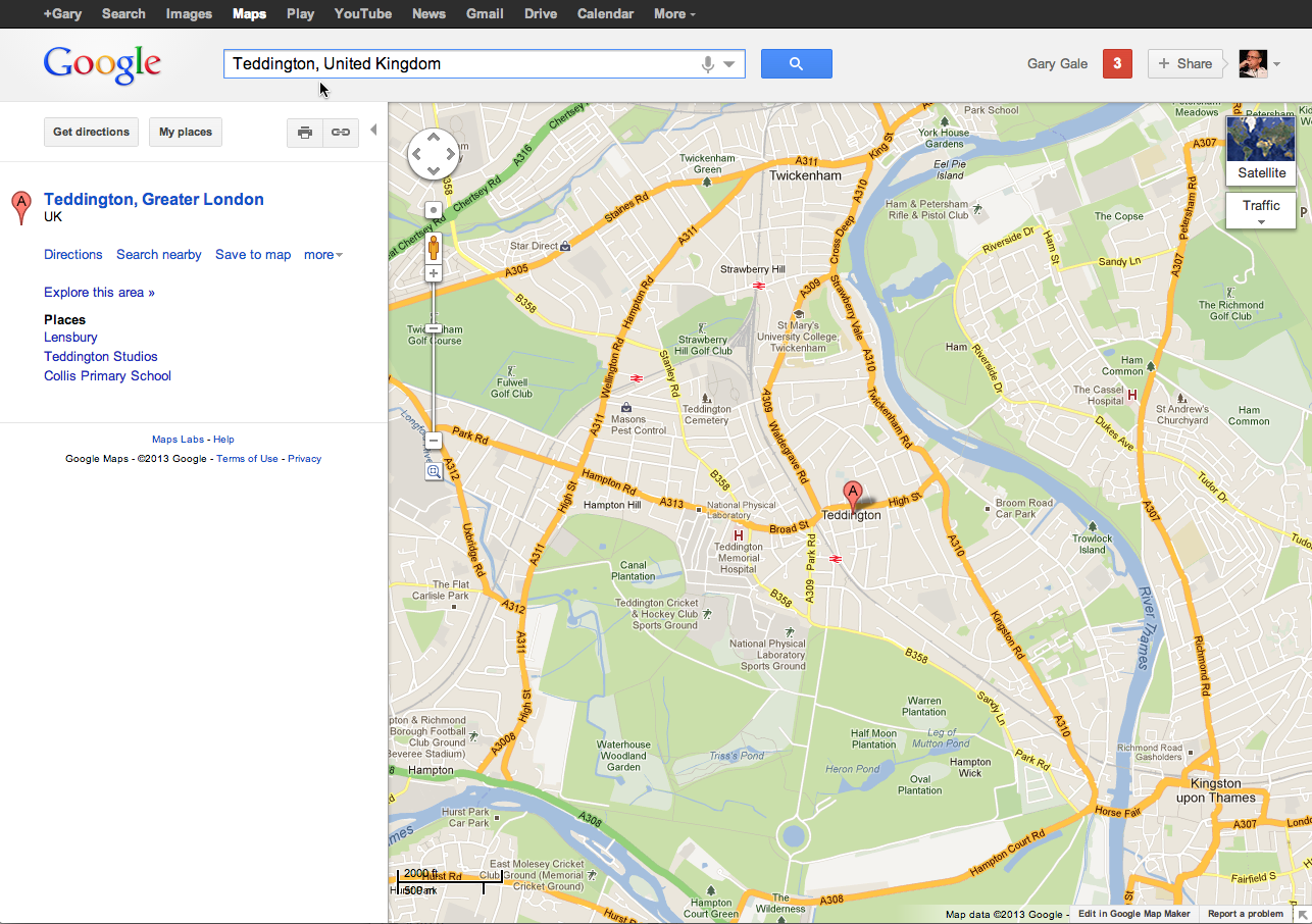 Test Drive The New GOOGLE MAPS Preview; With A Little Bit Of.