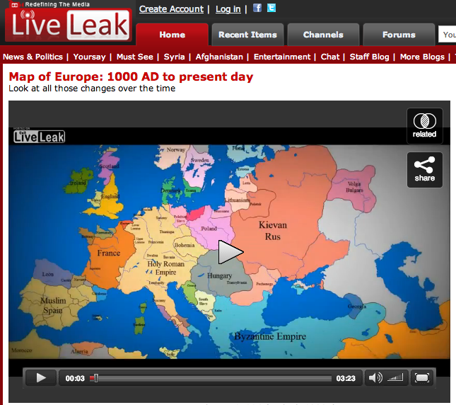 LiveLeak Map