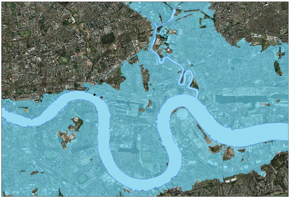 The Quest For The London Flood Map  Mostly Maps