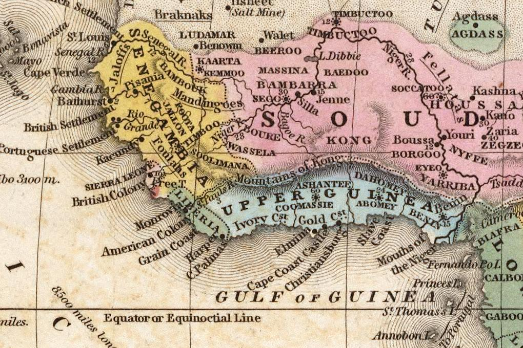 West_Africa_1839_Mitchell_map_-_Kong